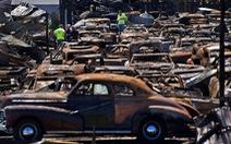 150 chiếc xe cổ bị thiêu rụi