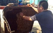 Doanh nghiệp đóng tàu nhận sai sót và sửa chữa