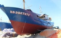 Sửa xong chiếc tàu vỏ thép đầu tiên