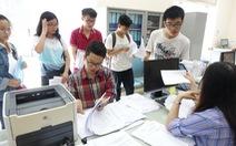 Hồ sơ sinh viên nhập học: Không cần xác nhận lý lịch
