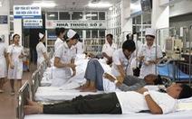 Lập khu điều trị dã chiến sốt xuất huyết trong bệnh viện 108