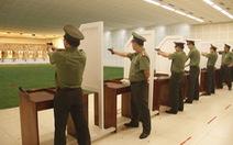 Tổng cục An ninh khai mạc hội thi bắn súng ngắn quân dụng