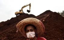 Malaysia tịch thu 10 triệu tấn bô xít tính bán cho Trung Quốc