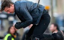 Xem clip Tom Cruise bị thương trên trường quay Mission Impossible 6