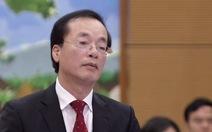 Bộ trưởng Xây dựng thừa nhận chuyện điều chỉnh quy hoạch để trục lợi