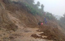 Điện Biên: mưa lớn gây sạt lở, nhiều tuyến đường bị chia cắt