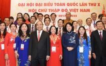 Thủ tướng: cán bộ Hội Chữ thập đỏ phải có trái tim hồng