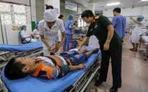 Khu điều trị sốt xuất huyết dã chiến nhận 200 người bệnh/ngày