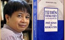 Tập sách dày chỉ hàng loạt lỗi 20 năm từ điển của Nguyễn Lân