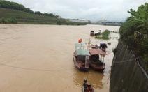 Lũ sông Hồng lên cao trở lại