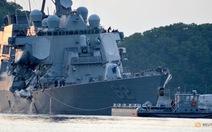 Hải quân Mỹ cách chức 3 sĩ quan cao cấp sau vụ đụng tàu