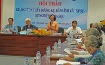Giáo sư Tôn Thất Dương Kỵ - 'hiện tượng' của cách mạng Việt Nam