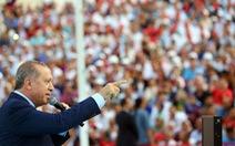 Tổng thống Thổ Nhĩ Kỳ chê Ngoại trưởng Đức '