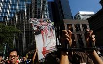 Hàng chục ngàn người biểu tình ở Hong Kong