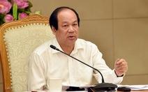 Bộ trưởng Tiến không nói gì về việc có người nhà làm ở VN Pharma