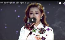 Diễn viên, người đẹp thi Tình bolero phiên bản nghệ sĩ