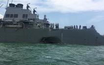Tìm thấy một số thi thể trong khoang tàukhu trục Mỹ bị đâm