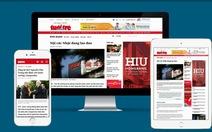 Tuổi Trẻ Online mới chào đón bạn đọc