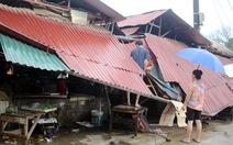 Mưa dông làm tốc mái 742 nhà tại Lào Cai