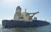 Nhà máy Nghi Sơn tiếp nhận 270.000 tấn dầu thô