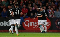 Điểm tin sáng 24-8: West Ham vào vòng 3 Cúp liên đoàn Anh