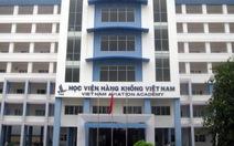 Sai phạm trong thi viên chức tại Học viện Hàng không Việt Nam