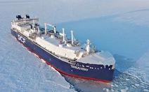 Tàu Nga xuyên biển Bắc cực không cần tàu phá băng