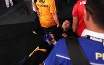 Võ sỹ pencak silat VN gãy tay trong trận chung kết