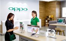 OPPO đầu tư chăm sóc khách hàng tương lai với chuỗi brand shop