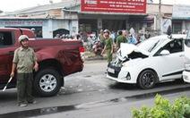 Tai nạn liên hoàn, đường nối các KCN Bình Dương rối loạn