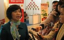 Cho bà Hồ Thị Kim Thoa nghỉ hưu từ 1-9