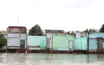 Bờ kè chống sạt lở kênh Thanh Đa hoàn thành trước 2 tháng