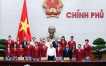 Thủ tướng gặp gỡ, chúc mừng đoàn TTVN dự SEA Games 29