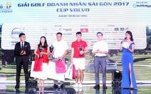 Lần đầu tiên thi đấu golf,Công Vinh đoạt giải 3