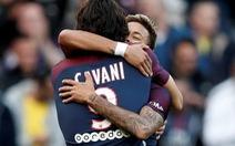 Neymar đá 11m, kiến tạo cho Cavani trong trận PSG thắng Bordeaux
