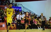 Sự cố mất điện ở giải bóng rổ chuyên nghiệp Việt Nam (VBA)