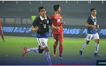 Campuchia thua đậm Indonesia trước ngày tái đấu VN
