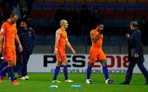 Hà Lan cạn kiệt hy vọng dự World Cup 2018