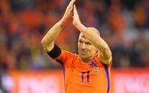 Robben chia tay đội tuyển Hà Lan