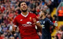 Liverpool chia điểm với M.U tại Anfield