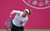 Sharapova lần đầu vào chung kết sau án cấm vì doping