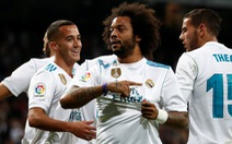 "Ronaldo ""im tiếng"", R.M vẫn thắng đậm Eibar"