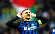 Icardi lập cú đúp, Inter hạ Sampdoria lên ngôi đầu