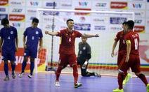 Futsal VN lập kỷ lục bàn thắng ở Giải futsal Đông Nam Á 2017