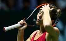 Tay vợt số 1 thế giới Halep chia tay WTA Finals