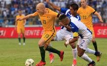 Úc cầm chân Honduras trên sân khách