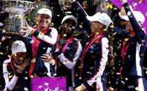 Điểm tin sáng 13-11: Mỹ vô địch Fed Cup lần đầu sau 17 năm
