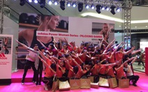 Piloxing Barre thu hút phái đẹp tại Hà Nội