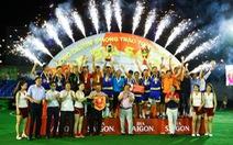 Điểm tin sáng 26-11: CLBĐinh Gia vô địch Cúp Bia Sài Gòn ở Bình Dương