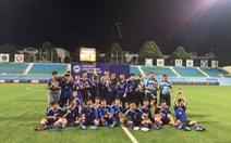 Điểm tin sáng 2-12: U-15 PVF vô địch Giải ICC Singapore 2017